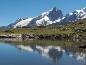 La Meije et le lac Noir